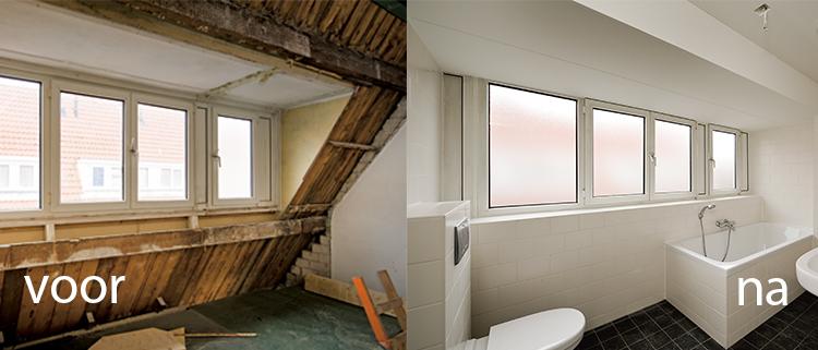 Renovatie - Voor na gerenoveerd huis ...